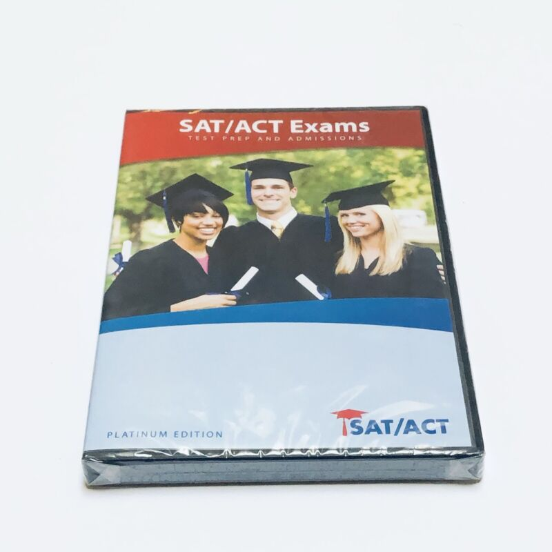 NEW! SAT/ACT Exams: Test Prep and Admissions: Platinum Edition Software