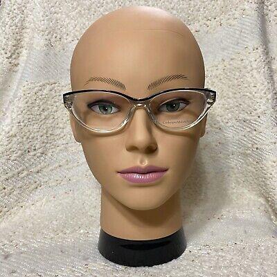Catherine Malandrino CM102 clear and black eyeglass frames size (Black And Clear Eyeglass Frames)