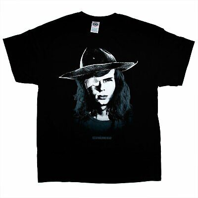 The Walking Dead CARL T Shirt Adult Unisex Sizes S to 3XL ()