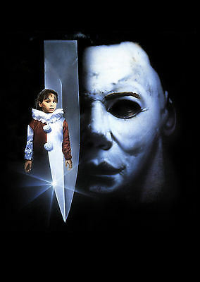 HALLOWEEN 5 Movie Poster Michael Myers - Halloween 5 Michael