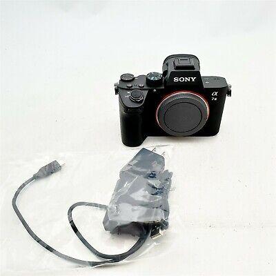 Sony a7 III ILCE7M3/B Full-Frame Mirrorless Interchangeable-Lens Camera, Black