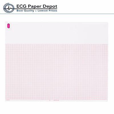 Ecg Ekg Thermal Paper 8.50x11 Burdick 007868 Eclipse Compatible 10 Pack