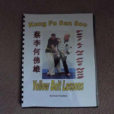 San Soo Kung Fu Yellow Belt Lesson Book - Fully Illustrated.