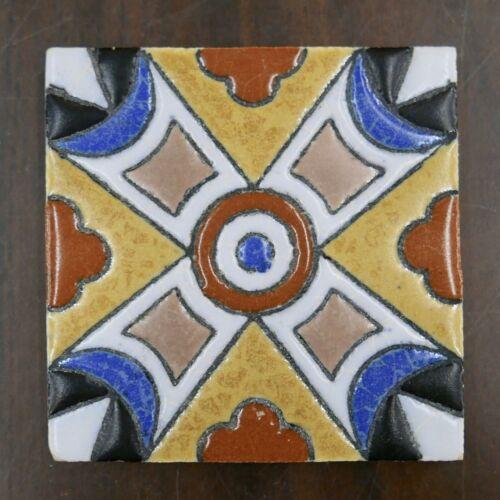 Decorated Kraftile Vintage Tile California