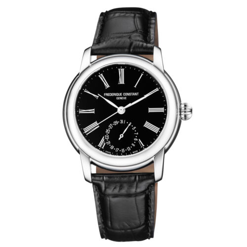 Frederique Constant Slimline Automatic Movement BlackDial Mens Watch FC-710MB4H6 - watch picture 1