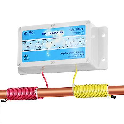 فلتر مياه جديد iSpring #ED2000 Whole House Electronic Descaler Water Conditioner