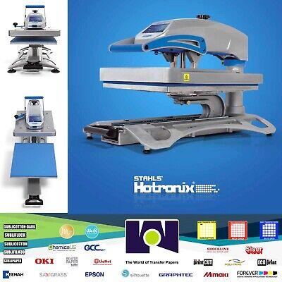 Stahls Hotronix Fusion Iq Heat Press Xf-120 16 X 20 Draw-swing Heat Press