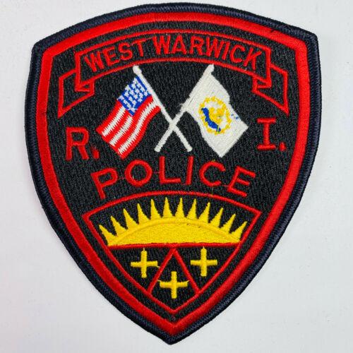 West Warwick Police Rhode Island RI Patch (A1)