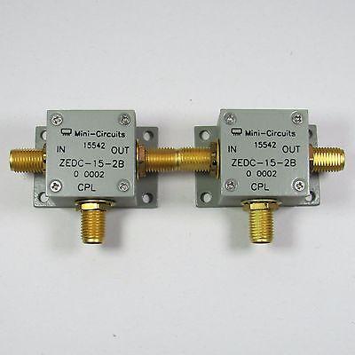 1pc Mini Circuits Zedc-15-2b 1-1000mhz 15db Sma Directional Coupler C2o4