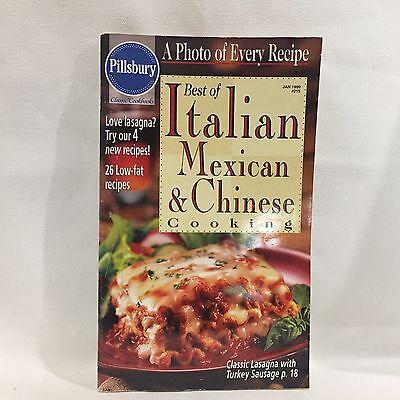 Pillsbury Best Of Italian Mexican Chinese Magazine Cookbook  Free