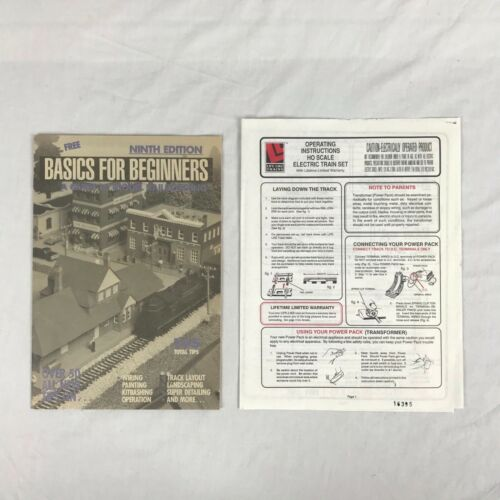 Life-Like Trains Operating Instructions and Basics for Beginners Ninth Edition