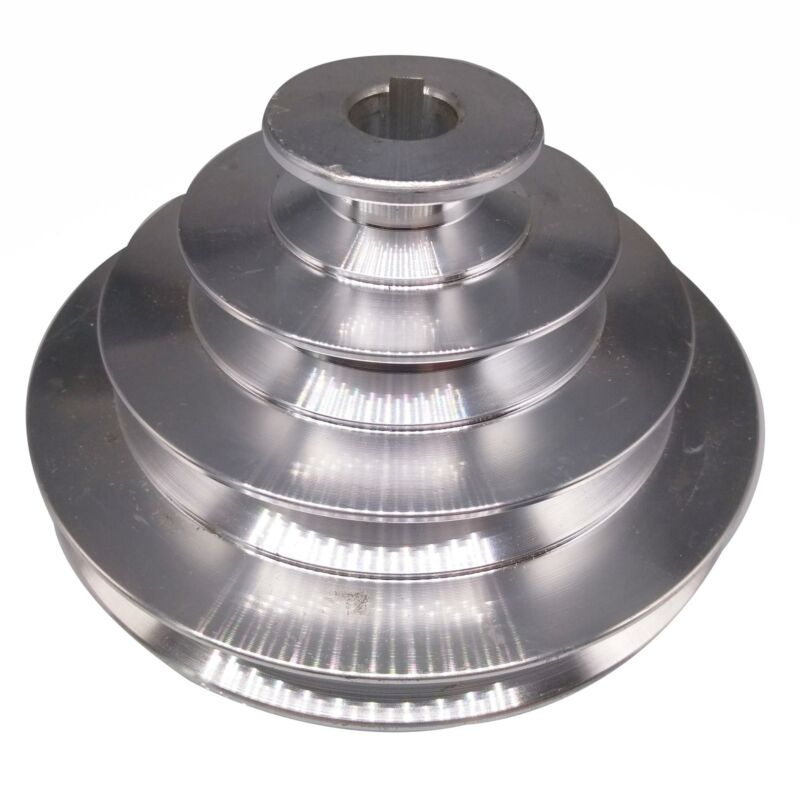 16mm Bore 4 Step A Type V-Belt Pagoda Pulley Belt Outter Dia 40-130mm