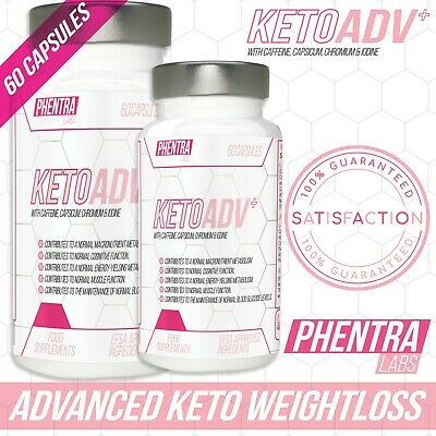 EXTREMELY STRONG Phentra Labs Keto Ketosis Slimming Pills Very Fast Weight Loss