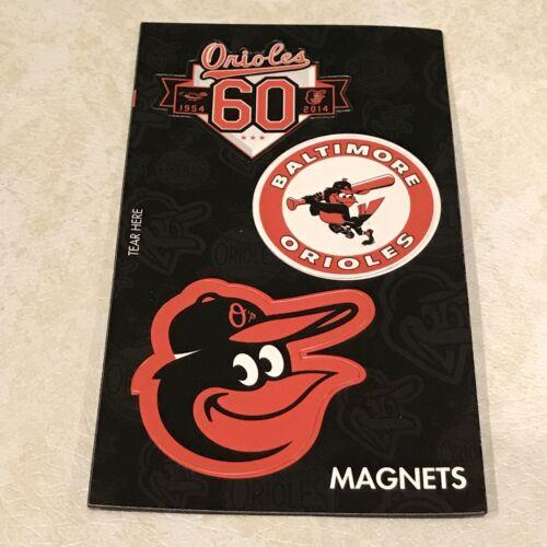 Baltimore Orioles Cartoon Bird Car Magnet Decal SGA 60th Ann