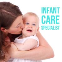 Infant care available - shift workers welcome!