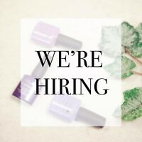 We're Hiring!! Full time and part-time esthetician's!
