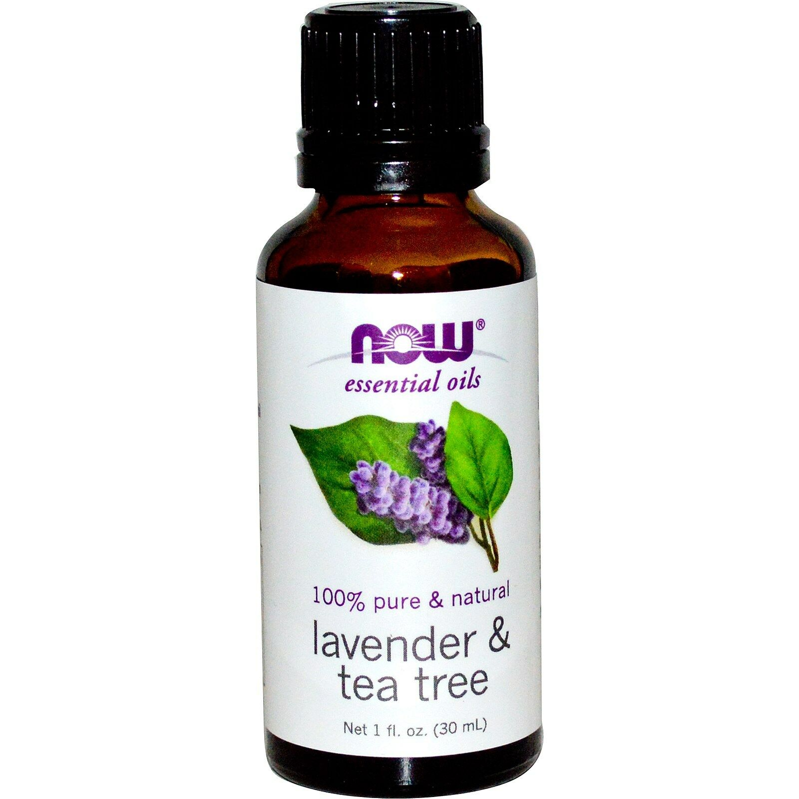 NOW Foods 1 oz Essential Oils and Blend Oils - FREE SHIPPING! Lavender & Tea Tree