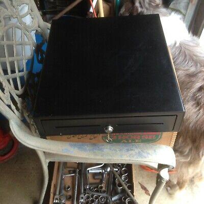 Cash Drawer Box Register Heavy Duty Key Lock With Bill 8 Coin Trays