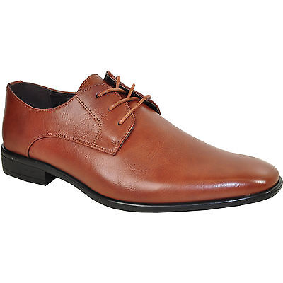 Bravo King 1 Dress Shoe Classic Oxford Leather Lining Brown Matte