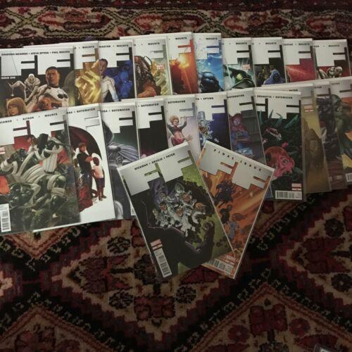 2011, Fantastic Four FF 1-23, Complete Series, Jonathan Hickman NM/M  - $60.00