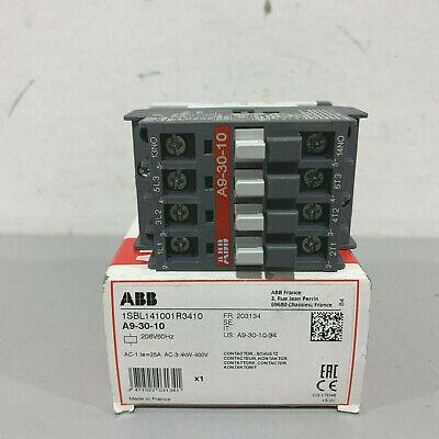 New ABB A9-30-10 175/208V 50/60Hz Contactor 1SBL141001R3410