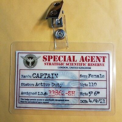 Agent Carter / Captain America Ausweishalter -ssr Special Weiblich Cosplay ()