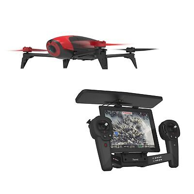 Parrot Bebop 2 Drone Kit with Parrot SkyController PF726100 (Red)