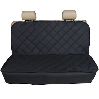 FOR CHEVROLET SPARK ALL YEARS PREMIUM QUILTED PET HAMMOCK REAR SEAT COVER