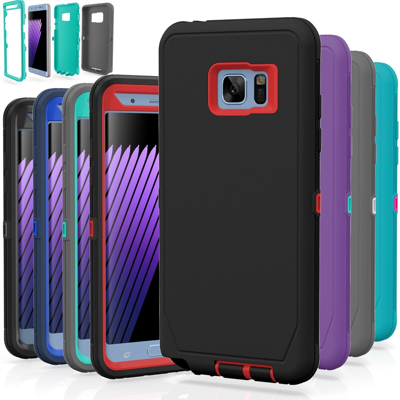 Samsung Galaxy S7 / S7 Edge Case Cover Shockproof Hybrid Har