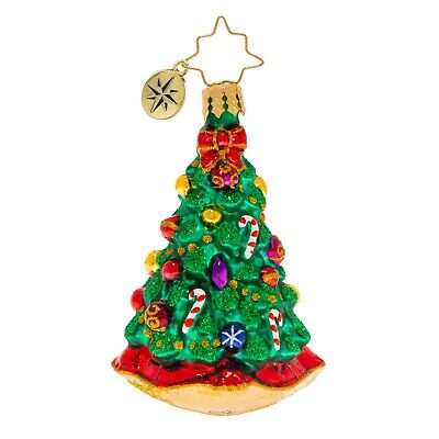 [NEW Christopher Radko CHRISTMAS TRADITION Christmas Ornament 1020249 Little Gem</Title]