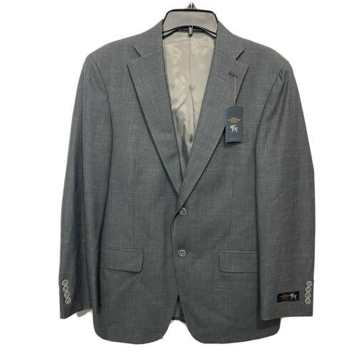 Hart Schaffner Marx Chicago Suit Jacket Sport Coat 40 40S Grey Blazer Clothing, Shoes & Accessories