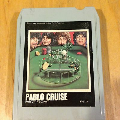 Pable Cruise - Part Of The Game ~8 Track Tape *