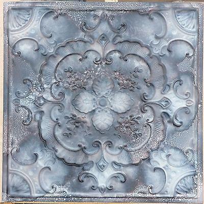 PL19 Faux tin village style aged ceiling tiles decorative wall panels 10tile/lot