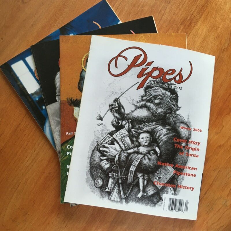 4 Pipes and Tobaccos Magazines
