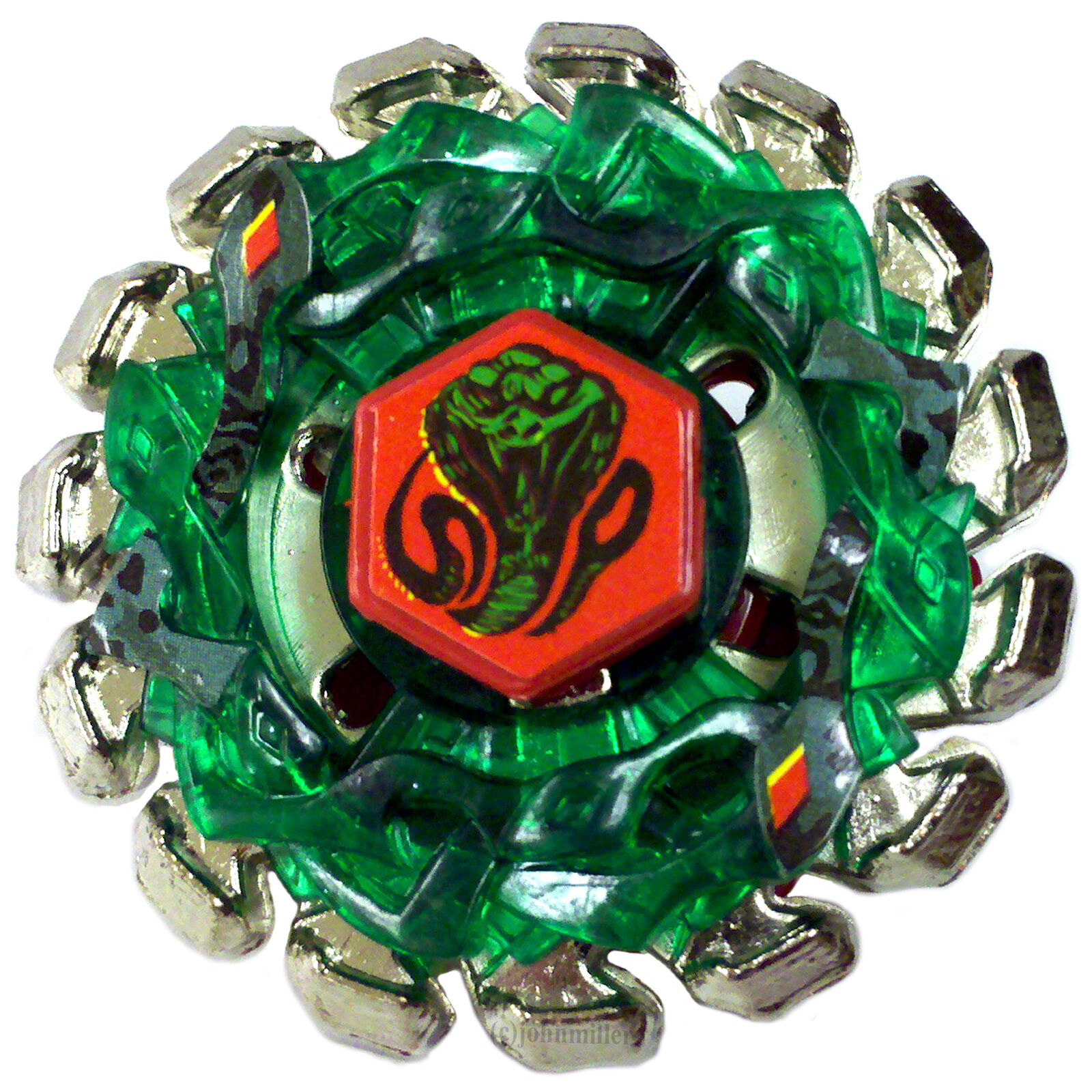 Beyblade Poison Serpent SW145SD/BB69 Metal Fusion 4D ...
