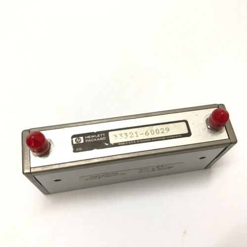 Hp /agilent 33321-60029 Attenuator-programmable 3-section 6ghz 75db (b 111)