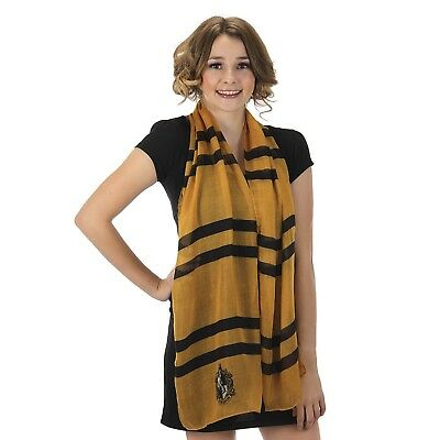 Hufflepuff Lightweight Yellow Scarf Harry Potter Halloween Costume - Harry Potter Halloween Scarf