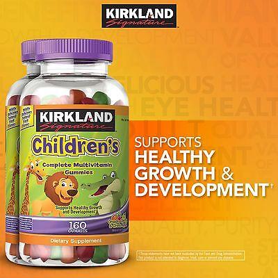 Kirkland Childrens Complete Multivitamin 320 Gummies   Best Price   Ships Free