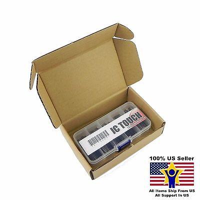 10value 100pcs Resistor Network 6pin 10pin Assortment Box Kit Us Seller Kitb0074