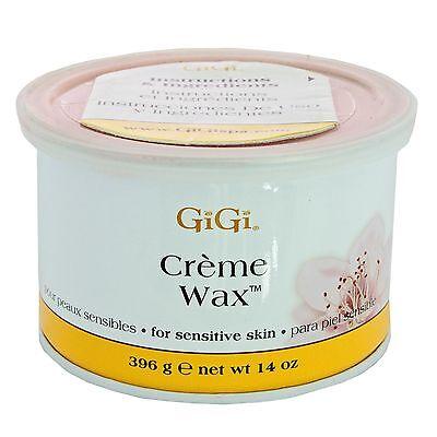 Gigi Creme Wax Hair Removal For Sensitive Skin 14 oz  ()