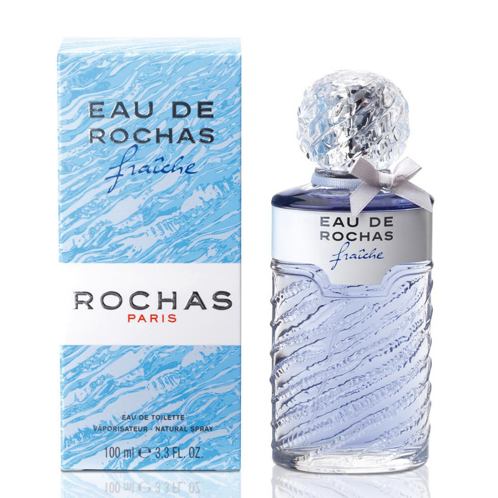 Detalles de EAU DE ROCHAS FRAICHE de ROCHAS Colonia Perfume EDT 100 mL Woman Fraîche