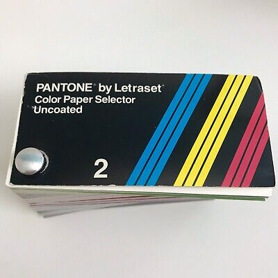 Pantone By Letraset Color Paper Selector Uncoated