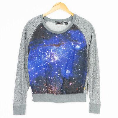 """MAISON Scotch """"Star de la Saison"""" Galaxy Stars Space Jumper Womens Size 1 / S"""