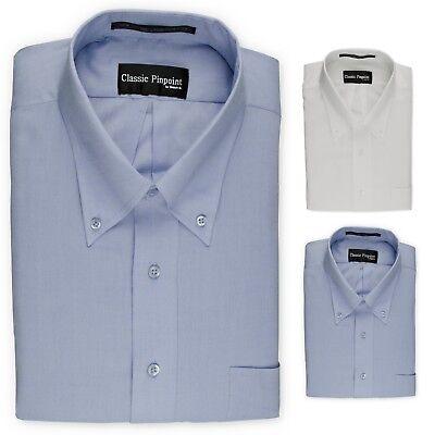 Donatelli Big and Tall Button-Down Dress Shirt | Classic -