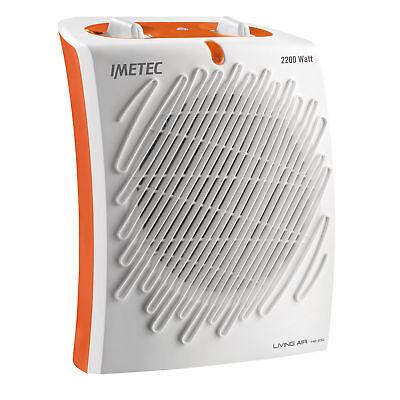 Imetec Living Air M2-100 Stufetta con elettroventola Interno Arancione, Bianco 2