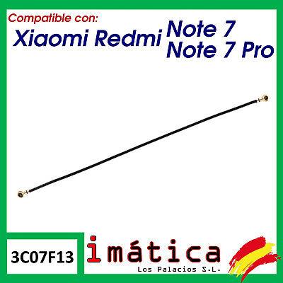CABLE ANTENA PARA XIAOMI REDMI NOTE 7 / PRO CONECTOR COAXIAL FLEX...