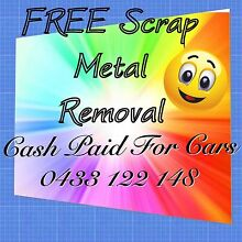 FREE Scrap Metal Removal, fridges, motors, car removal, car parts Melton West Melton Area Preview