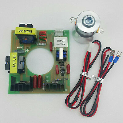 60w 40khz Ultrasonic Cleaning Transducer Cleaner Power Driver Board 110v Ac