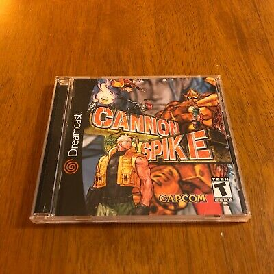 Cannon Spike (Sega Dreamcast, 2000) Complete Manual Registration Card CIB Tested