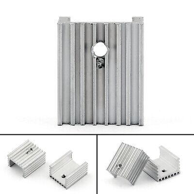 10pcs Heat Sink Cooler 15x10x18mm Radiator For Power Cpu Transistormosfetic T2